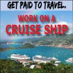 travel, cruise ship, work abroad