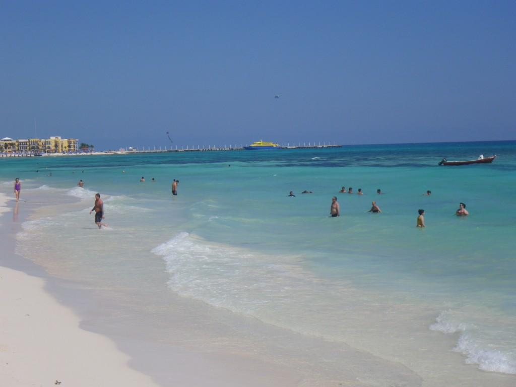Playa del Carmen beach, travel, nomadic